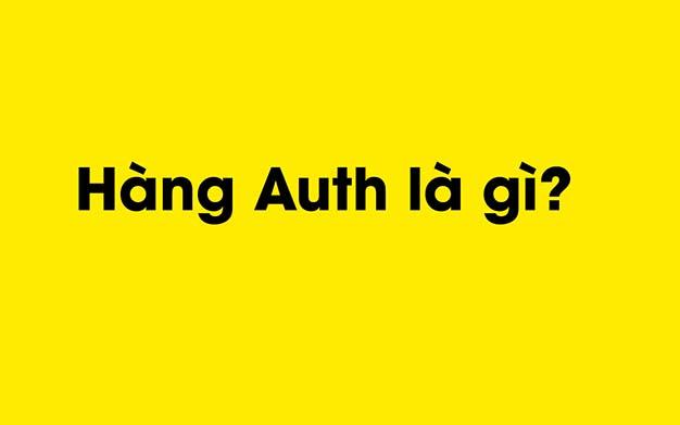 Hàng Auth